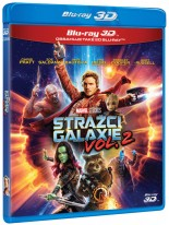 Strážci Galaxie vol. 2 3D + 2D Bluray