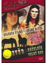 2 filmy na DVD: Zvěd / Náčelník velký had DVD