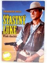 Šťastný Luke Vlak duchů DVD