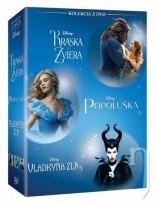 Kráska a zviera + Popoluška + Vládkyňa zla Kolekcia 3 DVD