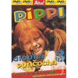 Pippi dlouhá punčocha 3 DVD