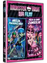 Monster High Dva Filmy: Proč se příšerky zamilovávají / Hrůza pátečních večerů DVD