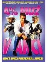 4 % muž v akci DVD