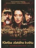 Kletba zlatého květu DVD /Bazár/