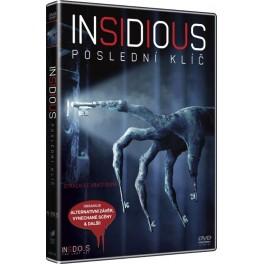 Insidious: Poslední klíč DVD