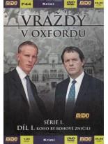 Vraždy v Oxfordu 1. séria 1. diel DVD