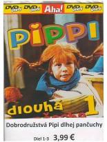 3 DVD rozprávky: Pippi dlouhá punčocha Kolekcia 1 - 3