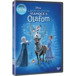 Ľadové kráľovstvo Vianoce s Olafom DVD