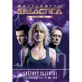 Battlestar Galactica 3. séria disk 1 DVD