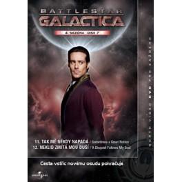 Battlestar Galactica 4. séria disk 7 DVD