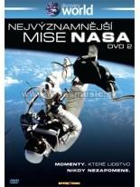 Nejvýznamnější mise NASA 2. Disk DVD