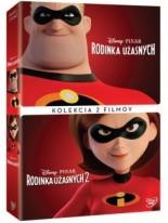 Kolekcia: Rodinka Úžasných 1 + 2 DVD