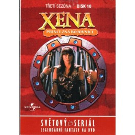 Xena 3. sezóna 10 DVD
