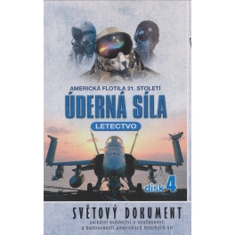Úderná síla Letectvo 4 DVD