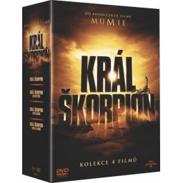 Král Škorpión Kolekcia 3DVD