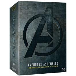 Avengers Kolekce 1-4 DVD