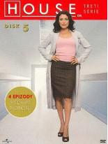 Dr. House 3. séria disk 5 DVD