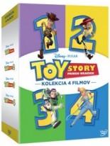 Toy Story 1-4 Kolekcia 4DVD