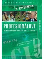 Profesionálové 13.disk DVD