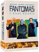 Fantomas kolekce - 3DVD