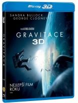 Gravitace 3D + 2D Bluray