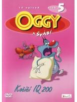 Oggy a švábi Kočičí IQ 200 DVD