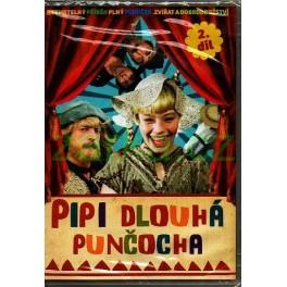 Pippi dlouhá punčocha 2 DVD