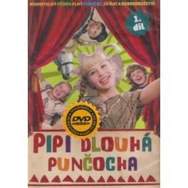 Pippi dlouhá punčocha 1 DVD