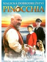 Magická dobrodružství Pinocchia DVD