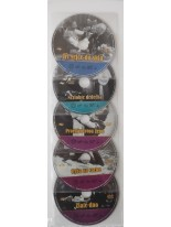 DVD Kolekcia 5 České filmy - Vlasta Burian / bez originál obalu