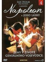Napoleon a jeho lásky 4 DVD
