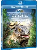 Kostarika - Světové přírodní dedictví 3D Bluray