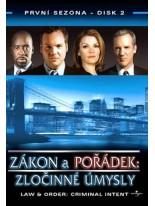 Zákon a pořádek Zločinné úmysly 2 DVD