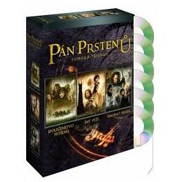 Pán prstenů Kolekcia 6 DVD