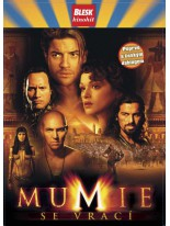 Mumie se vrací DVD