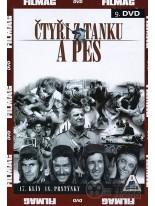 Čtyři z tanku a pes 9 DVD