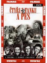 Ćtyři z tanku a pes 1 DVD
