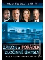 Zákon a pořádek Zločinné úmysly 1 DVD